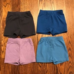 Set of 4 Hanna Andersson Tumble Shorts